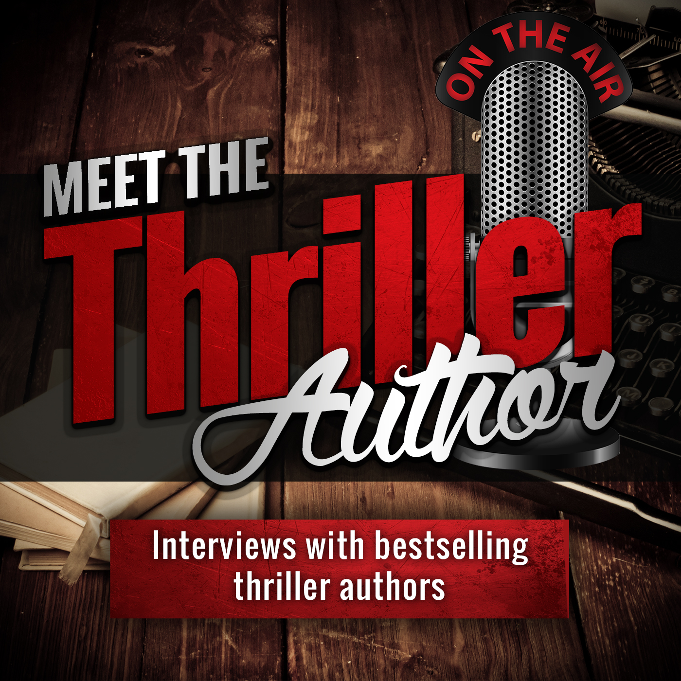 thriller author interviews podcast