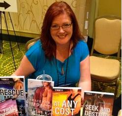 Meet the Thriller Author Allie K. Adams