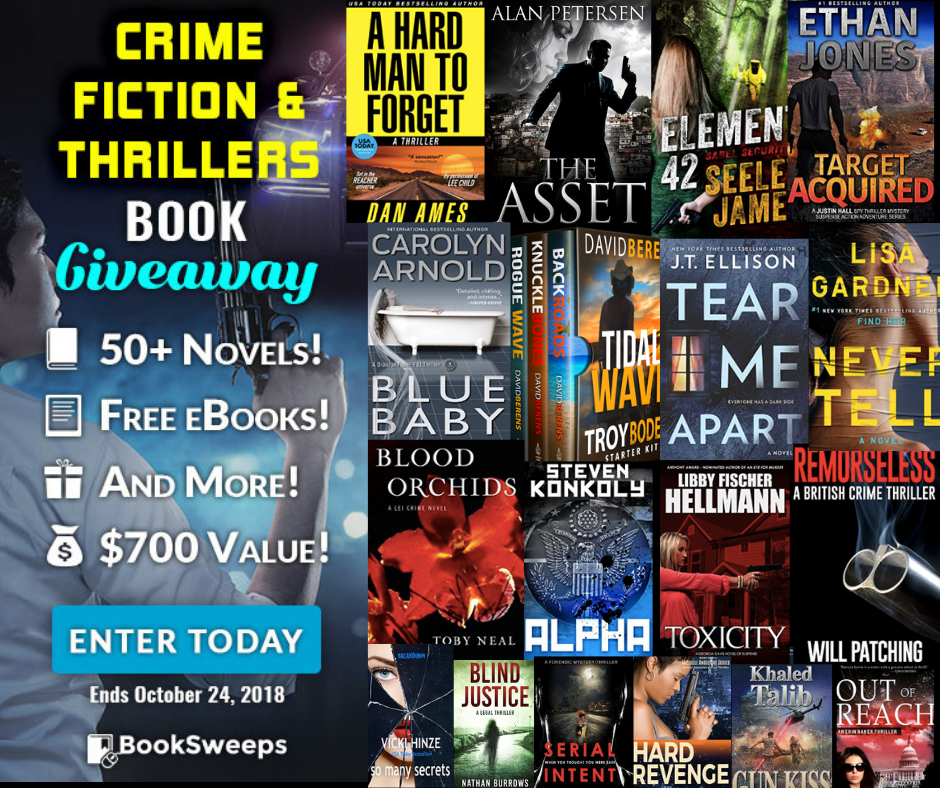BookSweeps Crime Thriller Giveaway