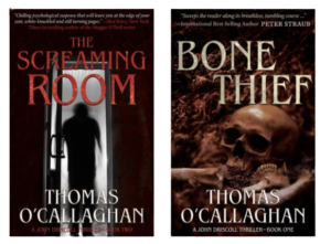 NYPD Homicide Commander Lieutenant John W. Driscoll Series by Thomas O'Callaghan.