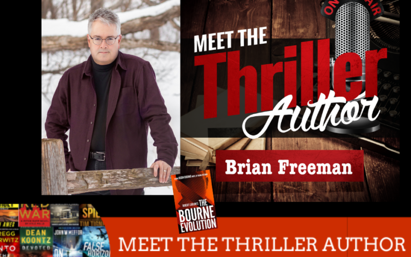 Author Brian Freeman interview