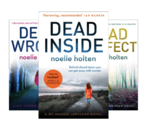 Noelle Holten's Maggie Jamieson Books