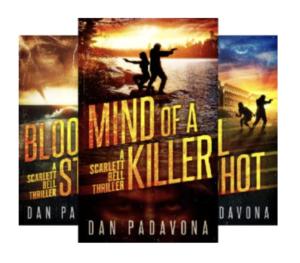 Scarlett Bell Dark FBI Thriller by Dan Padanova
