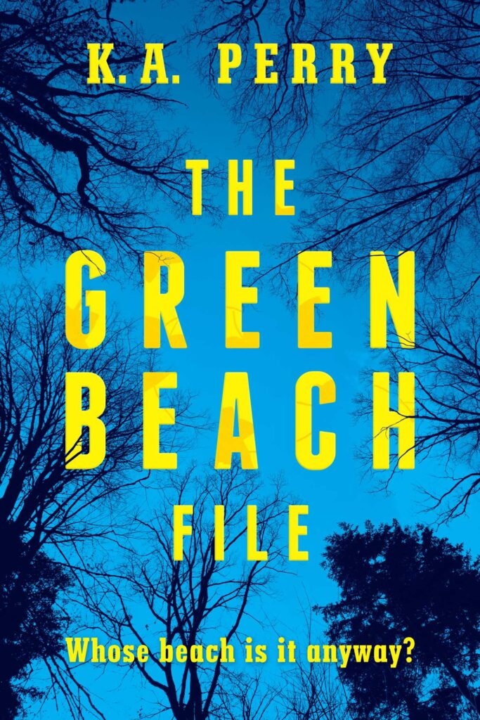 The Green Beach by K.A. Perry
