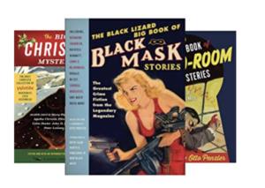 Vintage Crime/Black Lizard Big Book Anthologies by Otto Penzler