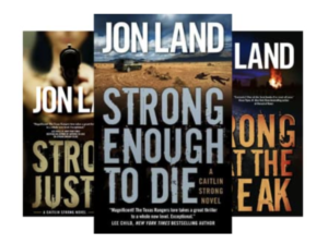 Caitlin Strong Novels by Jon Land