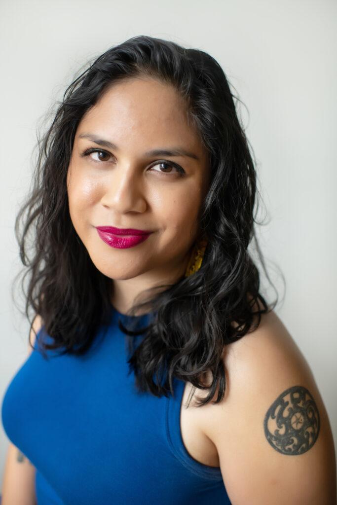 Author Mia P. Manansala | Photo credit: Jamilla Yipp Photography